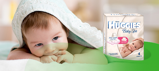 מגבוני Huggies Baby Spa